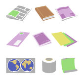 Paper goods Stock Photo