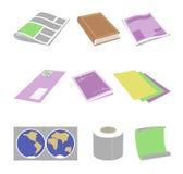 Paper goods stock photo