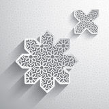 Paper graphic of Islamic design element Royalty Free Stock Photography