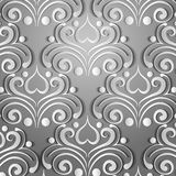 Paper gray pattern Royalty Free Stock Photo