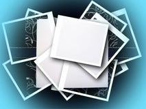 Paper greeting stock image
