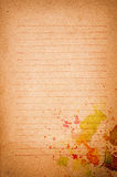 Paper grunge background Stock Photos