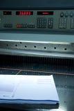 Paper guillotine Stock Photo