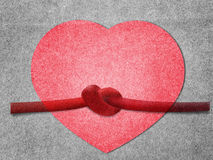 Paper heart Royalty Free Stock Images