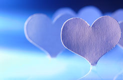 Paper heart Royalty Free Stock Photography