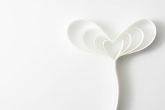 Paper heart. Background for valentine's day Royalty Free Stock Photo
