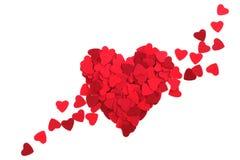 Paper heart Stock Photos
