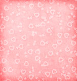 Paper with hearts Stock Images