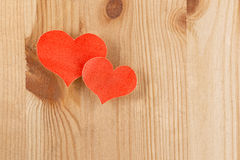 Paper hearts Royalty Free Stock Photos