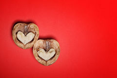 Paper hearts background St. Valentine Royalty Free Stock Photos