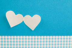 Paper hearts Royalty Free Stock Photo