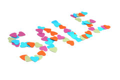 Paper hearts sale Stock Photos