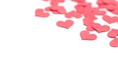 Paper hearts Stock Photos