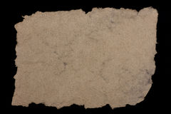 Paper from hemp fibers Stock Photo