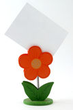 Paper holder. For the idea; flower-looking paper holder Stock Image