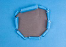Paper hole Royalty Free Stock Images