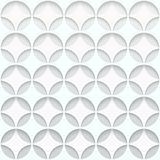 Paper Hole Seamless Pattern abstract vector background Stock Photos