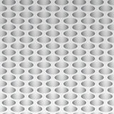 Paper holes. On a gray background Royalty Free Stock Images