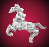 Paper horse Stock Images