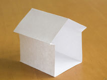 Paper house Stock Photos