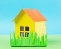 Paper house Royalty Free Stock Photos
