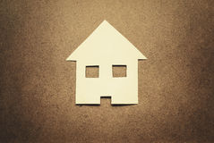 Paper house Royalty Free Stock Image