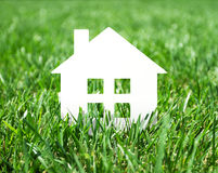 Paper house icon Royalty Free Stock Photo