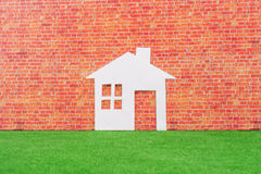 Paper House Stock Photo