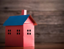 A paper house Stock Images