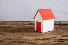 Paper house symbolizing Stock Photography