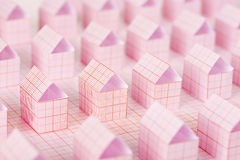 Paper houses Royalty Free Stock Photography
