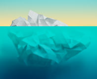 Paper ice royalty free stock image