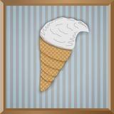 Paper icecream Stock Photography
