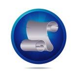 Paper icon Royalty Free Stock Photos