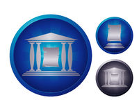 Paper icon set Royalty Free Stock Photo