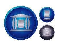 Paper icon set Royalty Free Stock Photo