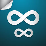 Paper Infinity Symbol Royalty Free Stock Photos