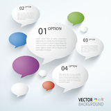 Paper Infographics Stock Images