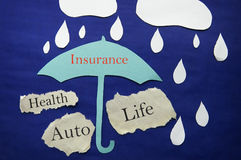 Paper insurance Stock Photography