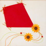 Paper kite Royalty Free Stock Images
