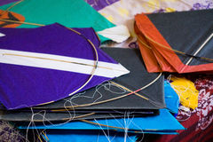 Paper kites for kite fighting Royalty Free Stock Images