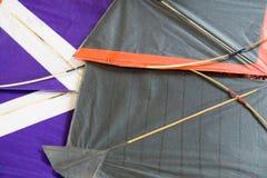 Paper kites for kite fighting Stock Images