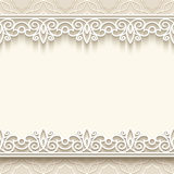 Paper lace background Royalty Free Stock Photography