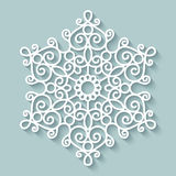 Paper lace doily Stock Images
