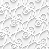Paper lace pattern Royalty Free Stock Images