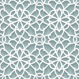 Paper lace texture Stock Images