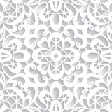 Paper lace texture stock illustration