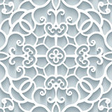 Paper lace texture Stock Image