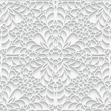Paper lace texture, seamless pattern Stock Photography