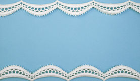 Paper with lacy border Royalty Free Stock Photo